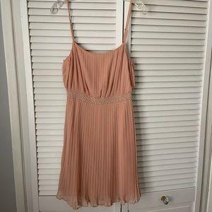 Ark & Co blush dress